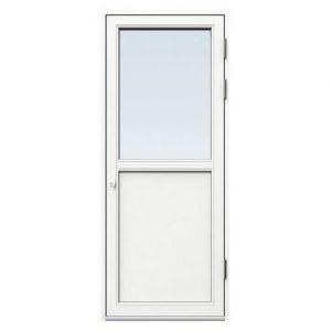 Fönsterdörr/altandörr Energi Aluminium 8, 21/12, Vit